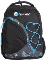 Fyntake Fyntake Backpack I-BAG 25 L Backpack Black With Blue Combination