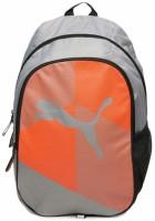 369ebe3b98 Puma Echo Plus Grey Orange Graphic 25 L Backpack Grey
