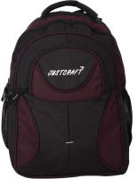 Justcraft Five Star Black And Purple 30 L Backpack (Black And Purple)