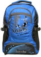 Attache Rocking School Bag (Sky Blue & Grey) 30 L Backpack (Blue)