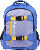 Pure Play EI-Pureplay-007 10 L Medium Backpack (Light Blue, Size - 520)