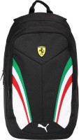 Puma Ferrari Replica 18.5 L Laptop Backpack Black