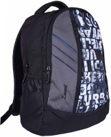 Zwart 114101LPB 25 L Free Size Backpack - Black And Grey
