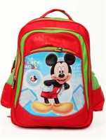 Hashtag Mickey Mouse School Bag 10 L Backpack (Red And Green, Size - 423.2)