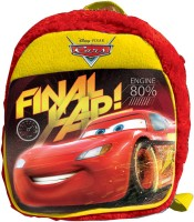 Disney Cars Plush Bag 2.5 L Backpack (Red, Size - 304)