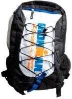 Easyhome Stylish School & Travel White Orange 8 L Backpack White, Size - 430