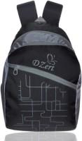 DZert Chax Polyester Light Weight School Bag 20 L Backpack (Black)