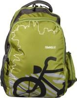 TRAVOLIC Bike Green 30 L Laptop Backpack White