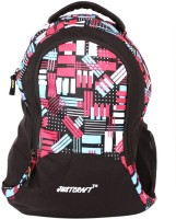 Justcraft Pluto Black And M Red 22 L Backpack (Red)