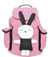 Hawai Dot Printed Sleepy 13.5 L Medium Backpack (Red, White, Size - 381)