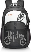 Skybags RAIDER 01 BLACK 30 L Backpack (Black)