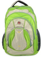 Pearl Bags Pearl Bags Unisex Stylish Trendy School And College Bags Backpack 1927 Green 30 L Backpack (Green & Grey)
