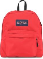 JanSport Spring Break 21 L Backpack Fluorescent Red