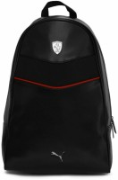 Puma Fashion Ferrari LS 25 L Backpack Black Leather