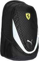 Puma Ferrari Replica 29 L Large Laptop Backpack Black, Size - 500
