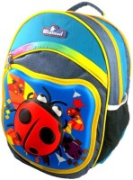 White Stallion College Bag 24.244 L Medium Backpack (Red, Blue And Yellow, Size - 440)