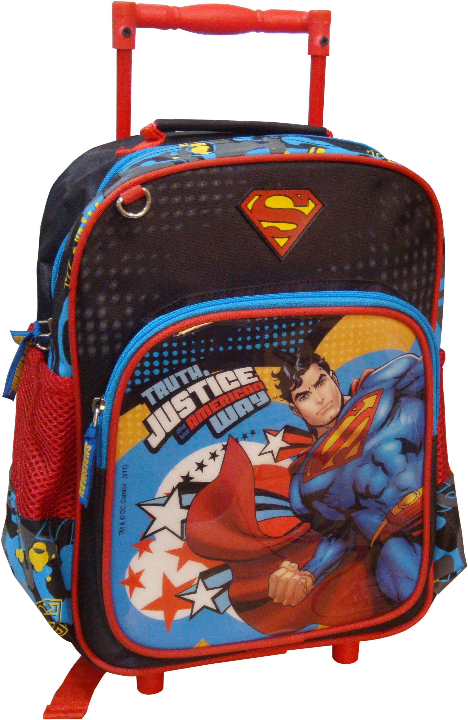 cf948383c2 ... STARX SUPERMAN SCHOOL BAG WATERPROOF BACKPACK RED BLACK