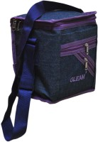 Gleam Mesh Padded Container Box Waterproof Lunch Bag (Blue, Purple, 10 L)