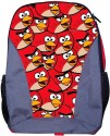 Angry Birds School Bag - Red, Grey