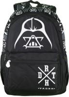 Star Wars Waterproof School Bag (Black, 17 Inch)