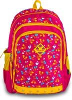 Genius Disney School Bag Tween 1502 Waterproof Backpack (Pink, 19 Inch)