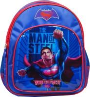 Batman Vs Superman School Bag (Blue, 14 Inch)