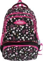 Frozen Waterproof School Bag (Black, Pink, 17 Inch)