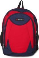 Bleu School Bag Waterproof Backpack (Red, Blue, 17 Inch)