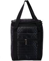 Yark Waterproof School Bag (Black, 9 Inch)