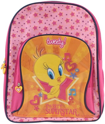 Tweety Lil Wanderers Tweety Waterproof Backpack (Multicolor)
