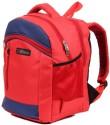 Bleu School Bag Waterproof Backpack - Red, Blue