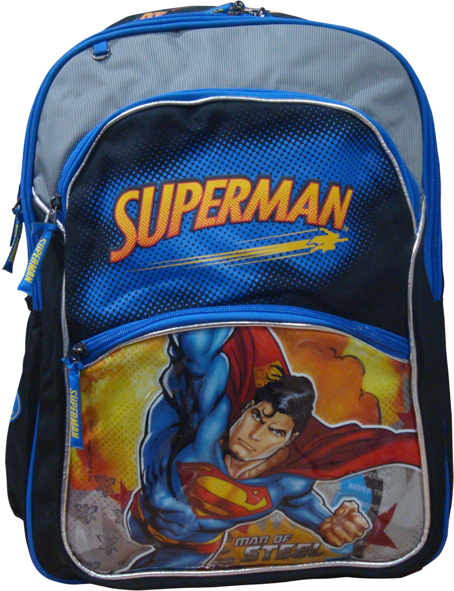 40% OFF on Starx Superman School Bag Waterproof Backpack on Flipkart ... 178b4db4a7ea1