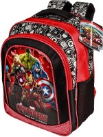 Marvel Avengers Age Of Ultron Backpack (Red, Black, 16 Inch)