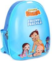Green Gold Backpack Waterproof School Bag (Blue, 15 Inch)