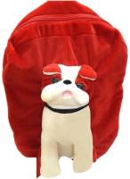 Gouri Bags Backpack School Bag (Red, 5 L)