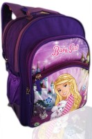 Digital Bazar London Pink Chennai CHARBIE GIRL MIRACLE DAUGHTER Cartoon (LOVELY DAUGHTER) Special Edition Waterproof School Bag (Pink, 14 Inch)