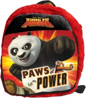 Disney KungFu Panda Plush Bag 2.5 L Backpack (Red, Size - 304)