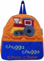 Little Pipal Engine RTG Toddler Orange Backpack (Orange, 11 Inch)