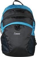 Zwart Zoni Waterproof School Bag (Black, Blue, 10 L)