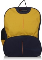 Bleu School Bag Waterproof Backpack (Yellow, Blue, 17 Inch)
