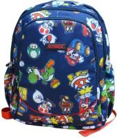 Starx Children Backpack Waterproof School Bag (Blue, 15 Inch)