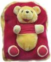 Tickles Pile Cloth Backpack - Maroon
