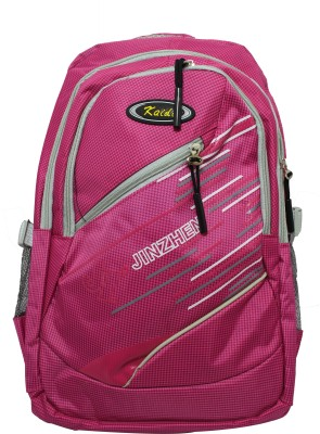 0376c9900e 53% OFF on JINZHEN Mesh Bag Waterproof Backpack Pink