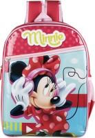 Disney Waterproof School Bag (Red, 14 Inch)