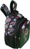 Captain America Waterproof School Bag (Black, 19 Inch)