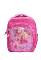 Raj R-65-01 Baby Girl 3D Waterproof School Bag (Pink, 15 Inch)