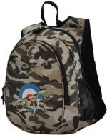 O3 Kids Backpack O3 Kids Camo Airplane Waterproof Backpack