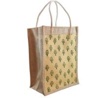 Mpkart Jute Lunch Bag (Beige, 12 L)