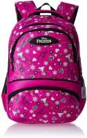 Frozen Waterproof School Bag (Black, Pink, 19 Inch)
