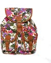 Shaun Design Canvas Bag Backpack - Multi-color